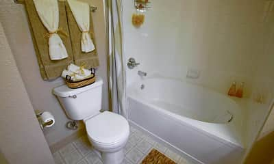 Bathroom, Fox Ridge Apartments, 2