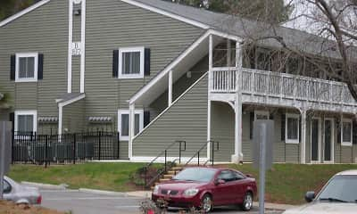 Building, Oakhill Apartments, 2