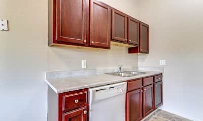 Kitchen, Wildwood Apartments, 0