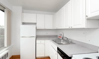 Kitchen, Clarendon Shores, 1