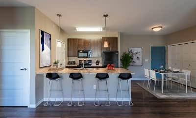 Living Room, Latitude Apartments, 0