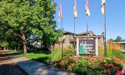 Community Signage, Pioneer Ridge, 1