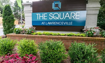 Community Signage, The Square at Lawrenceville, 0
