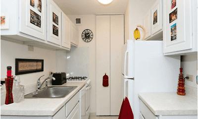 Kitchen, Rivergate Apartments, 2