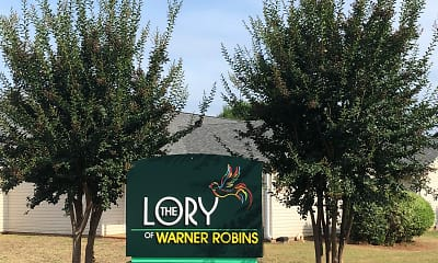 Community Signage, The Lory of Warner Robins, 0