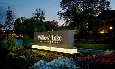 Community Signage, Willow Lake Apartments, 2