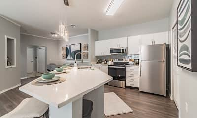 Kitchen, The Parq at Cross Creek, 1