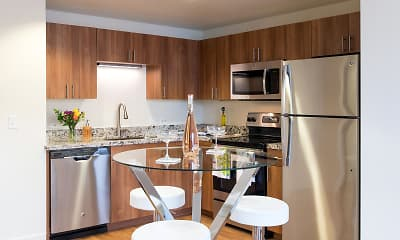 Kitchen, 1010 Pacific Apartments, 2