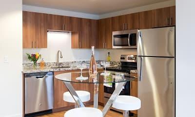 Kitchen, 1010 Pacific Apartments, 2