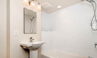Bathroom, Geary Courtyard, 2