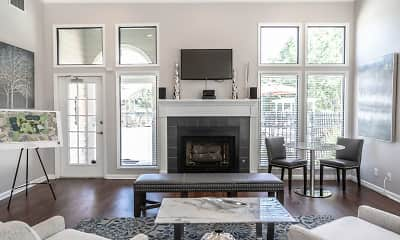 Living Room, Forest Pointe Apartment Homes, 1
