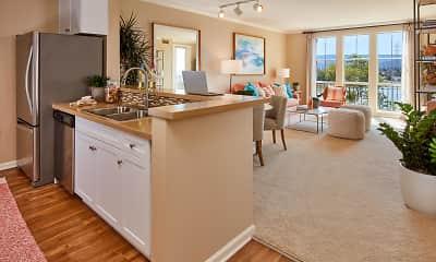 Kitchen, The Villas at Bair Island Marina, 0
