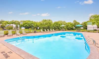 Pool, The Flats at Minor Park, 1
