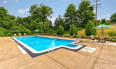 Pool, LaVale Apartments, 1