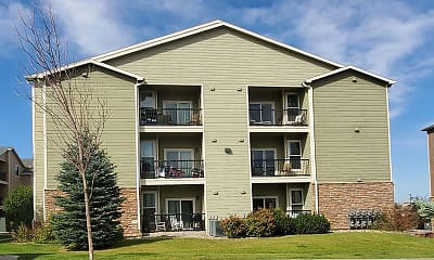 Building, South Fork Apartments, 1