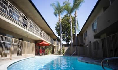 Pool, Ramona Palm Apartment Homes, 1