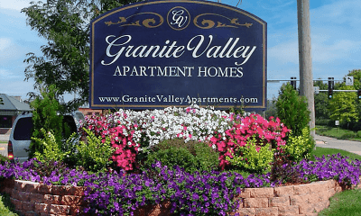 Community Signage, Granite Valley Apartment Homes, 0