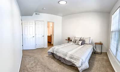 Bedroom, The Braxton at Trolley Square, 2