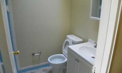Bathroom, Willow Gardens, 2