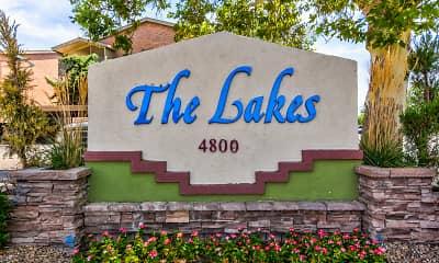 Community Signage, The Lakes, 2