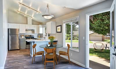 Dining Room, Townhomes at Mountain View - Valley, 1