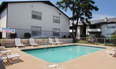 Pool, Fairfield Apartments, 1