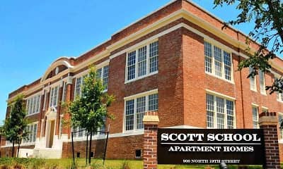 Scott School Apartments, 0