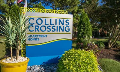 Community Signage, Collins Crossing, 2