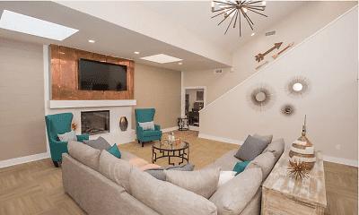 Living Room, Sunchase Ridgeland Apartments, 2