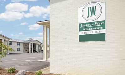 Community Signage, Jackson West, 2