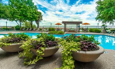 Pool, Blue Lake Villas, 1