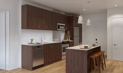 Kitchen, Legacy at Fitz, 0