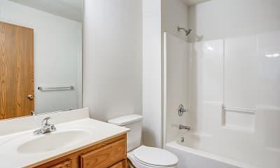 Bathroom, Excelsior Gardens Apartments, 2