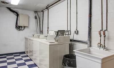Storage Room, Dawson Village Apartments, 1