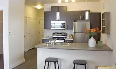 Kitchen, Talus Apartments, 1