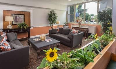 Living Room, The York house - 55+ Senior Community, 2