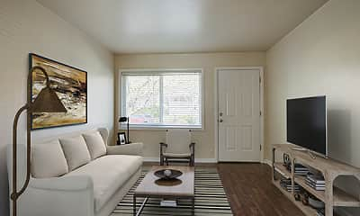 Living Room, Clinton Court, 1