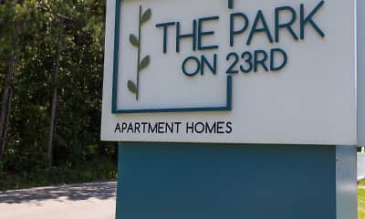 Community Signage, The Park on 23rd, 0
