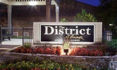 Community Signage, District at Vinings - Millennial Lofts, 1