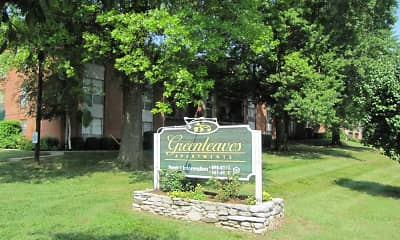 Community Signage, Greenleaves, 1