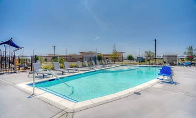 Pool, Ventura at Tradewinds Apartments, 1