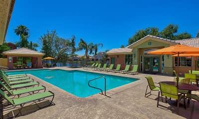 Pool, Serena Shores At Val Vista Lakes, 1
