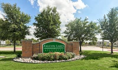 Community Signage, Falcon Lakes, 2
