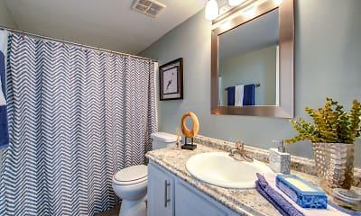 Bathroom, Thee Boardwalk, 2