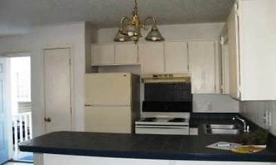 Kitchen, Myers Apartments, 1