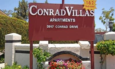 Community Signage, Conrad Villas, 2
