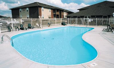 Pool, Pinewood Park Apartments, 2