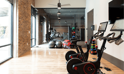 Fitness Weight Room, Foundry Yards, 2