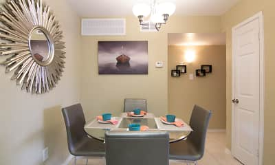 Dining Room, Westward Square, 2