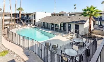 Pool, Cactus Canyon, 1